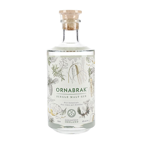 Ornabrak Irish Single Malt Gin - Trekantens Is