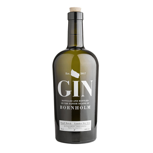 Østersøens Brænderi Small Batch London Dry Gin - Trekantens Is