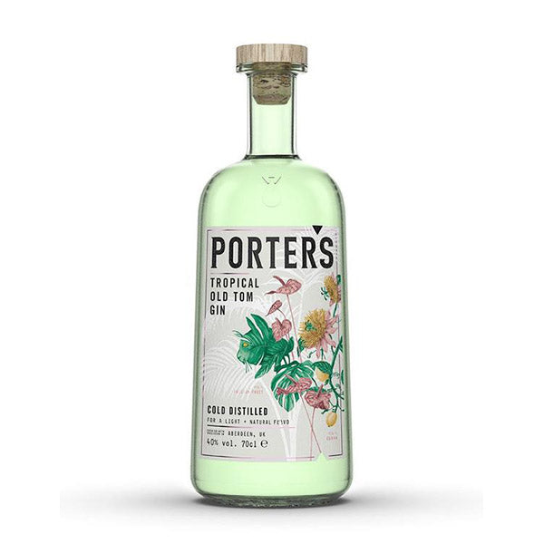 Porters Old Tom Tropical Gin - Trekantens Is