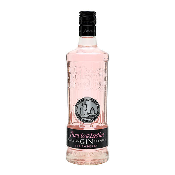 Puerto de Indias Strawberry Gin - Trekantens Is