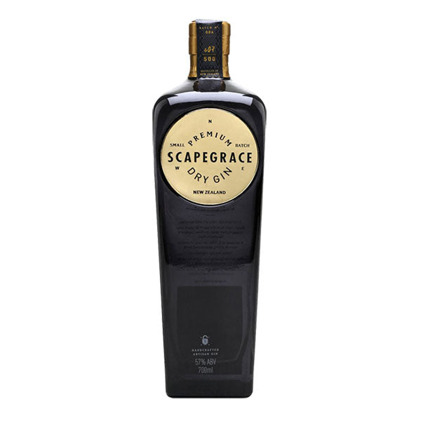 Scapegrace Gold Premium Dry Gin - Trekantens Is