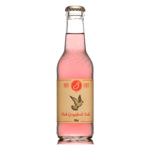 Three Cents Pink Grapefruit Soda - Trekantens Is