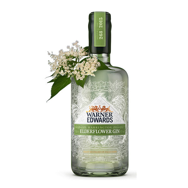 Warner Edwards Elderflower Gin - Trekantens Is