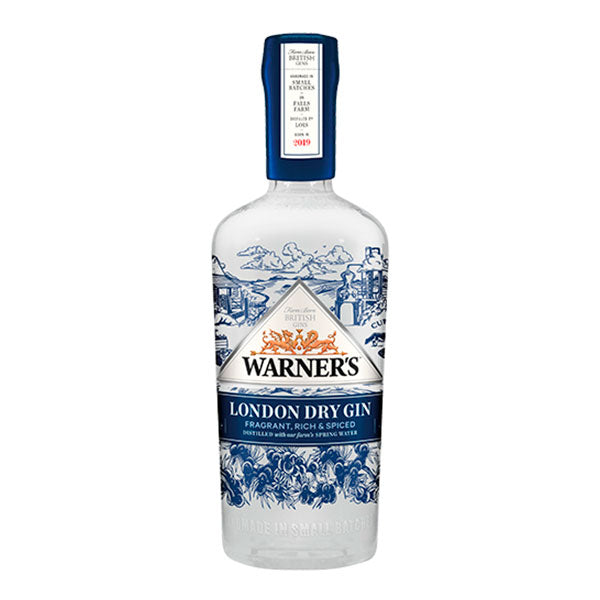Warner's London Dry Gin - Trekantens Is