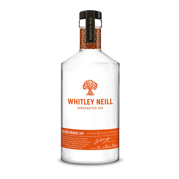 Whitley Neill Blood Orange Gin - Trekantens Is