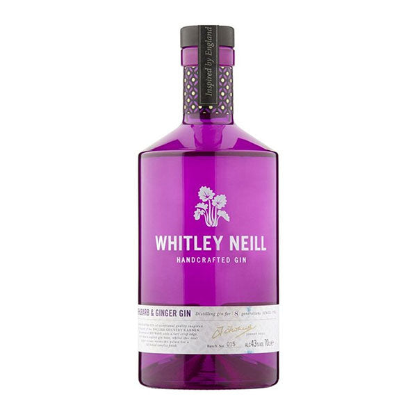 Whitley Neill Rhubarb & Ginger Gin - Trekantens Is