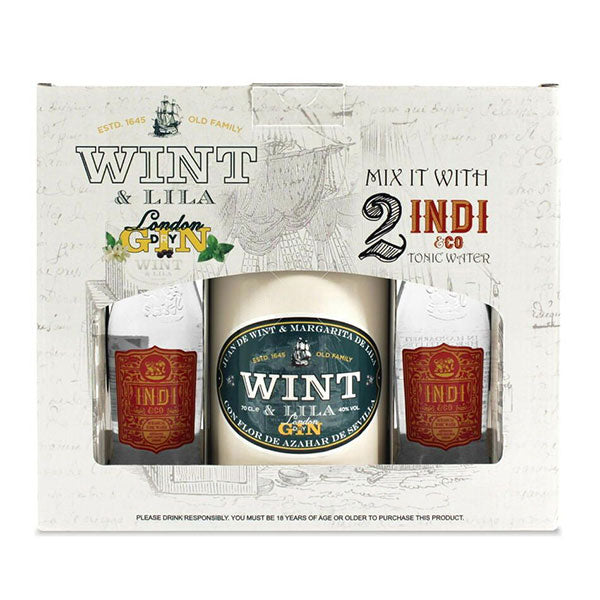 Wint & Lila Giftpack med 2 Indi & Co. Tonic - Trekantens Is