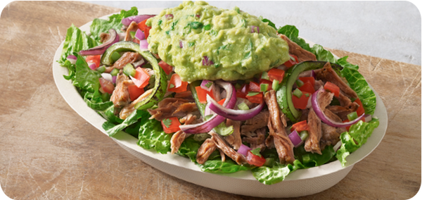 Best Keto Fast Food Options, Chipotle Bowl