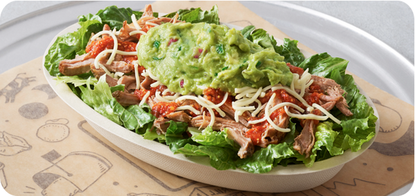 Best Keto Fast Food Options, Steak Chipotle Bowl