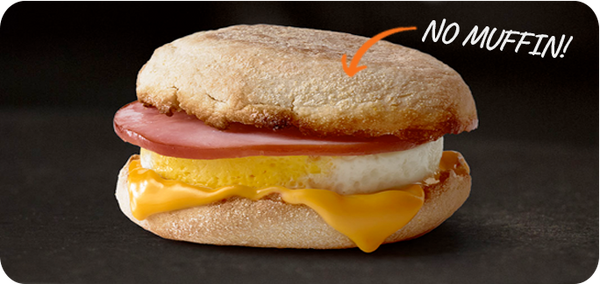 Best Keto Fast Food Options, Egg McMuffin