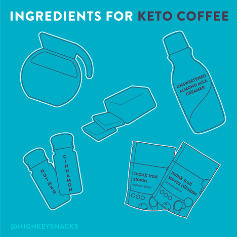keto coffee ingredients