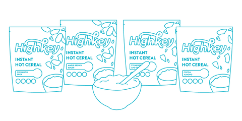 gluten free highkey hot cereal options