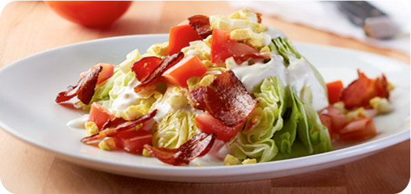 Keto Friendly Restaurants, California Pizza Kitchen Petite Wedge Salad | HighKey Snacks