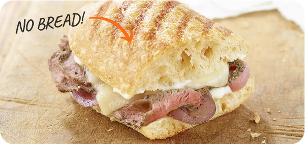 Keto Friendly Restaurants Panera Bread Steak and Cheddar Sandwich (hold the bread)
