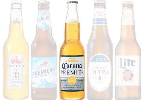 Low Carb Beers, Corona Premier | HighKey Snacks