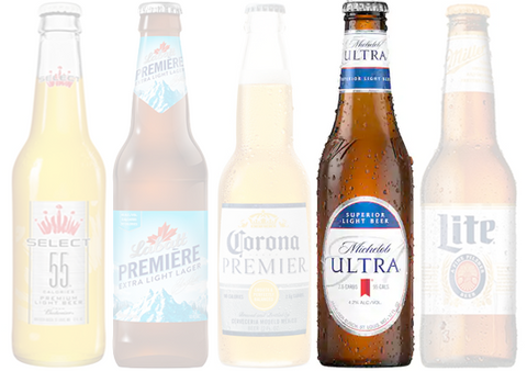 Low Carb Beers, Michelob Ultra | HighKey Snacks