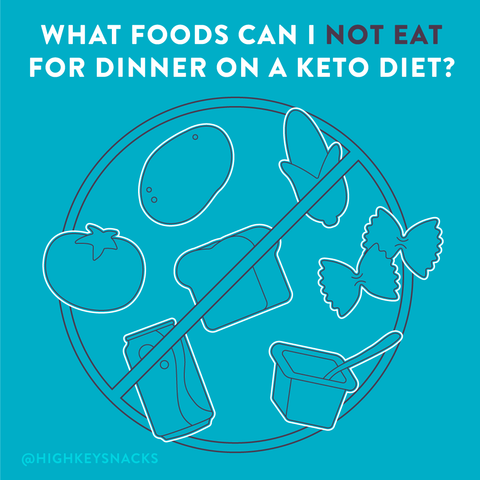 keto dinner what you cannot eat