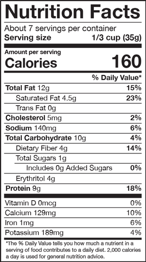 strawberries & cream hot cereal nutrition facts