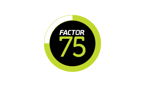 Top 5 meal subscriptions factor 75 logo