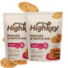 Highkey Low Net Carb Baking Mix Pancake Mix Flavor Falling Ingredients