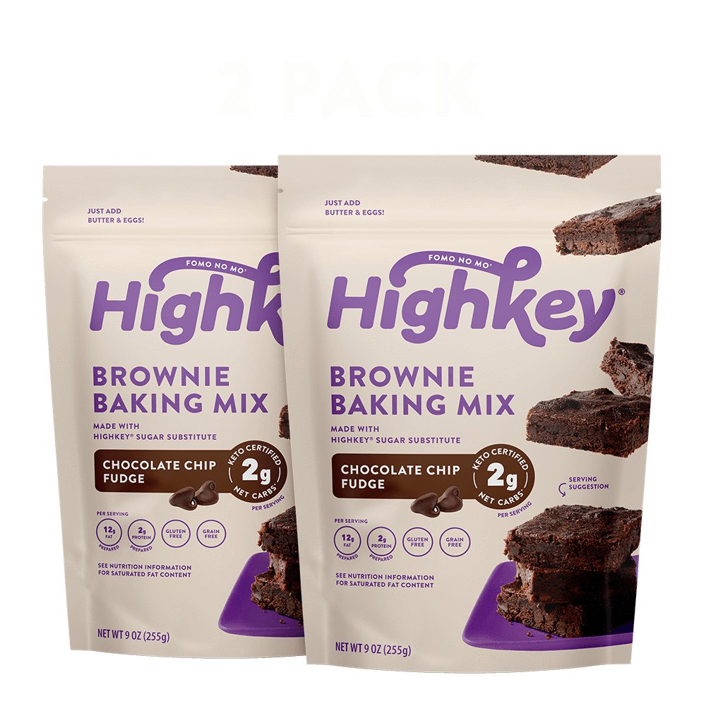 Low Carb Keto Brownie Baking Mix