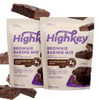 Highkey Low Net Carb Baking Mix Brownie Baking Mix | 2 Pack Flavor Falling Ingredients