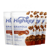 Cinnamon Almond Low Carb Granola Breakfast HighKey Snacks 4-Pack - Save $5!