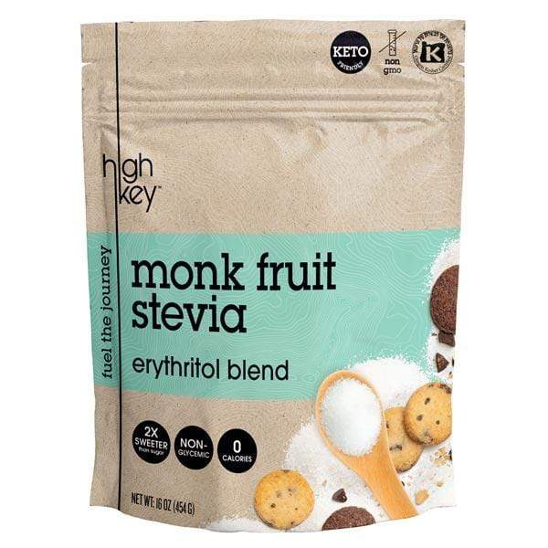 Monk Fruit Stevia - Erythritol Blend - HighKey