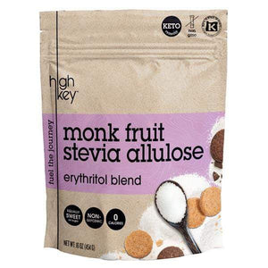 Monk Fruit Stevia Allulose - Erythritol Blend - HighKey