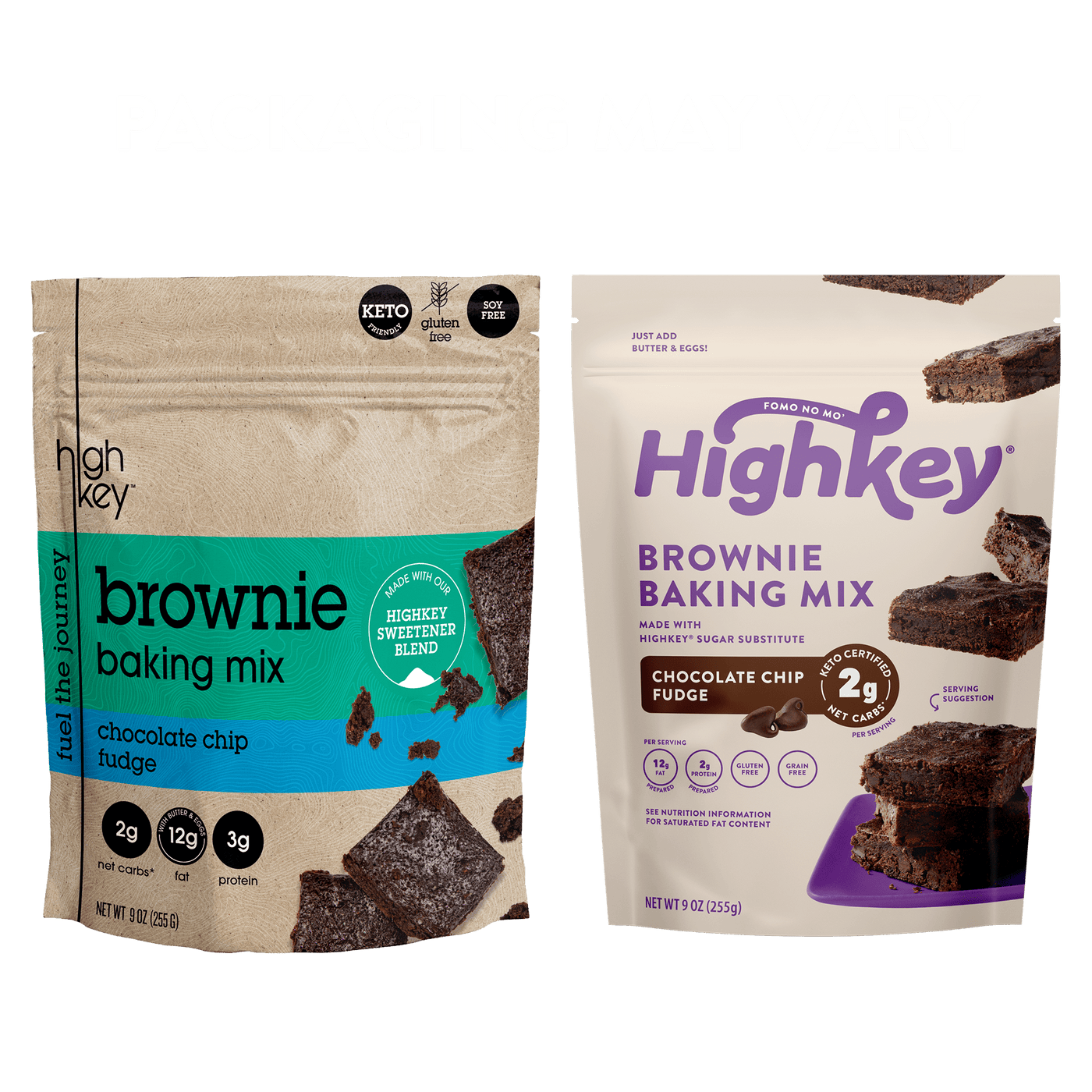 Highkey Low Net Carb Baking Mix Brownie Baking Mix | 4 Pack Flavor