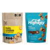 Highkey Keto-Friendly Baked Goods Chocolate Chip Mini Cookies 9 Pack Flavor  Packaging May Vary