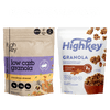 Highkey Keto-Friendly Breakfast Cinnamon Almond Low Carb Granola Flavor  Packaging May Vary