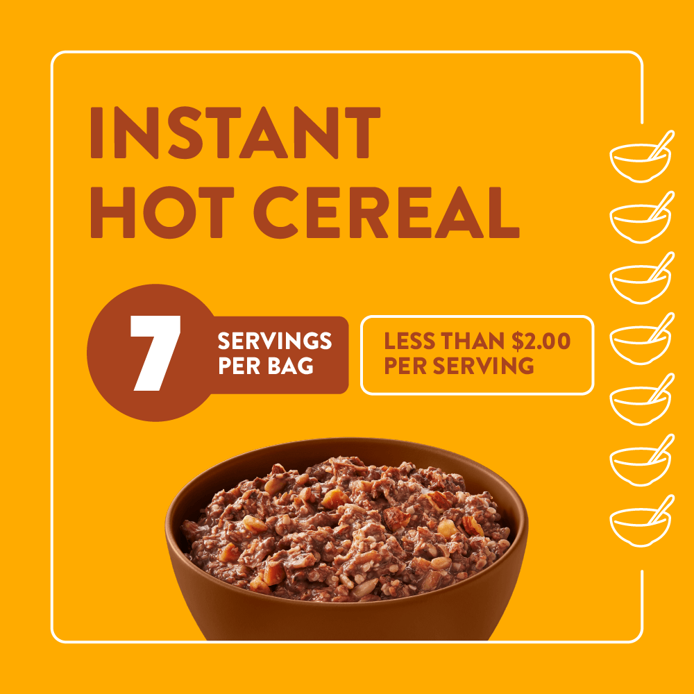 Highkey Breakfast Cocoa Almond Hot Cereal  Always Keto-Friendly, Guilt-Free 7 servings per bag