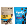 Highkey Keto-Friendly Baked Goods Double Chocolate Brownie Mini Cookies Flavor Packaging May Vary