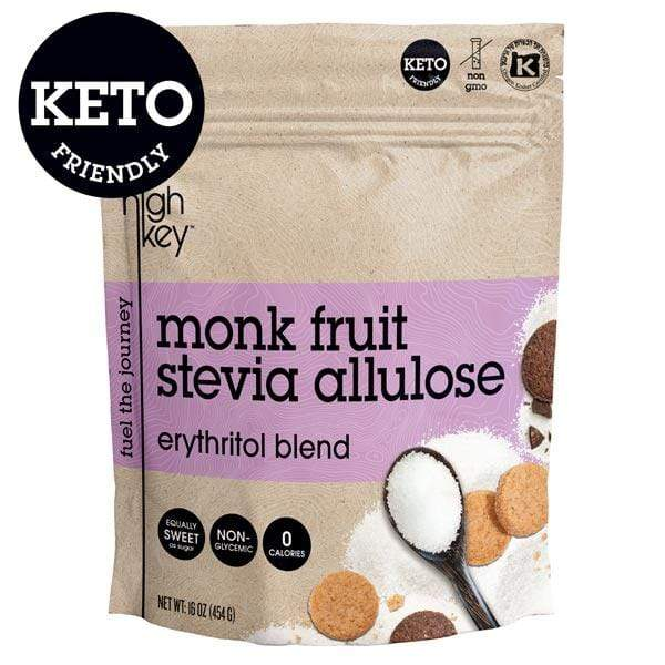 Monk Fruit Stevia Allulose - Erythritol Blend (Keto Friendly) - HighKey