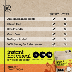 Hot Cereal | Variety Bundle | Cocoa Almond | Maple Brown Sugar