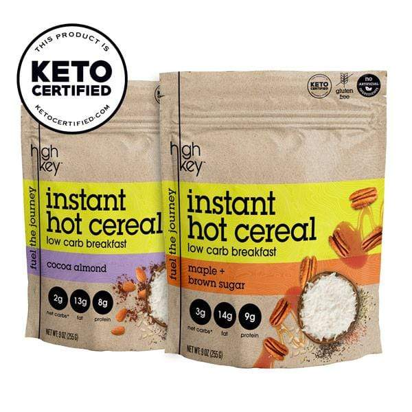 Hot cereal 2 pack bundle - Cocoa almond + Maple Brown Sugar