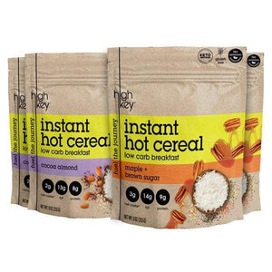 Hot Cereal Variety Bundle| Maple + Cocoa Almond 4 Pack