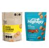 Highkey Keto-Friendly Baked Goods KETO MINI COOKIES: SNICKERDOODLE 9 PACK Flavor  Packaging May Vary