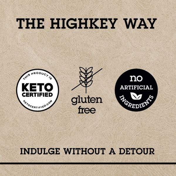 The HighKey Way | Keto-Certified - Gluten Free - No Artificial Ingredients | INDULGE WITHOUT A DETOUR