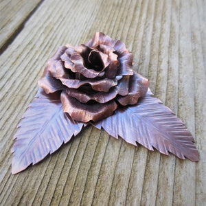 Making Copper Roses