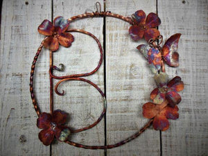 Copper Door Wreath