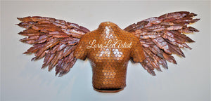 Liwet - Copper Angel Sculpture