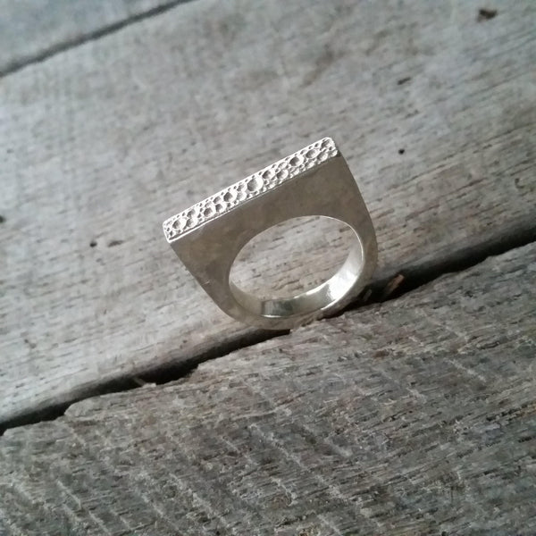 Starlet Silver Ring - Size 8