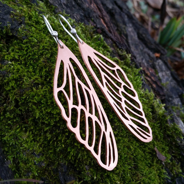 Fluttery Wing Earrings