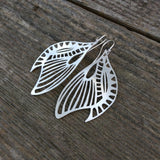 Winged Glory Earrings - Custom - LoraLeeArtist