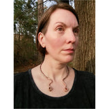 Goddess Copper Torque Necklace - LoraLeeArtist