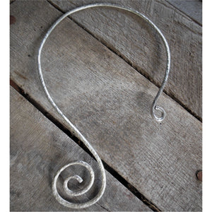 Spiral Torque Necklace - Custom
