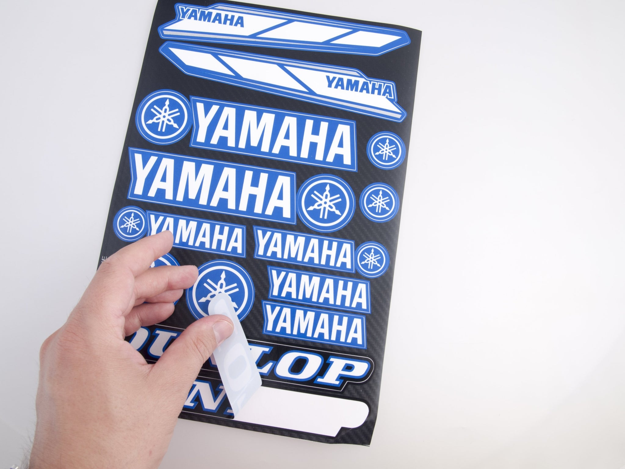 Yamaha blue  sticker for motorcycle