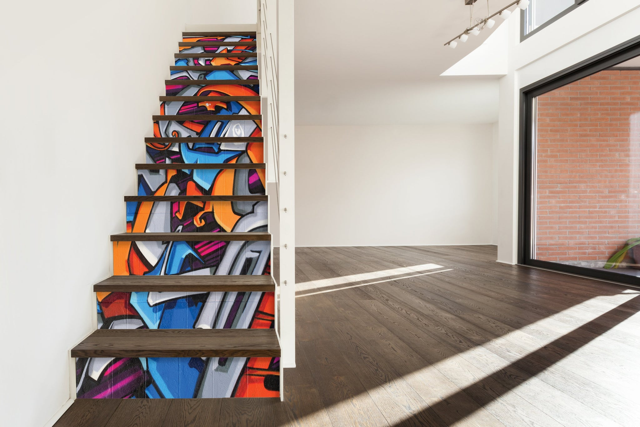 Grafiti - Stickers for stairs NS022 - Art Life Decor